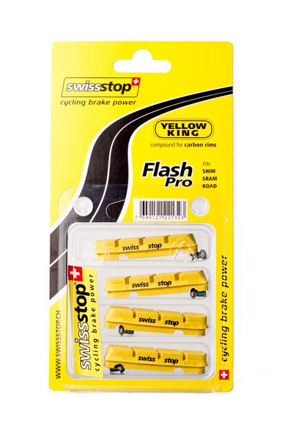 Swisstop FlashPro Brake Pads Shim//SRAM Road